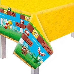 Toalha De Mesa Principal Super Mario 118X180