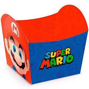 Mini Cachepot Super Mário 5,5X5,5X6 Com 10 Unidades