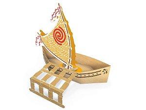 Cachepot Barco Moana Com 08 Unidades