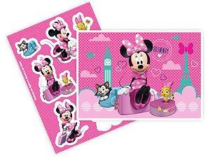 Kit Decorativo Minnie Rosa