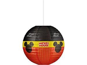 Lanterna Papel Mickey Diversão 30Cm