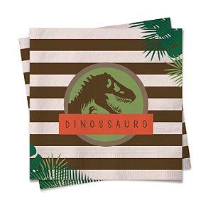 Guardanapo Mundo dos Dinossauros 25x25 com 20 Unidades