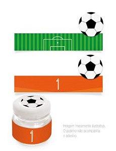 Cartela de Adesivo Futebol c/20