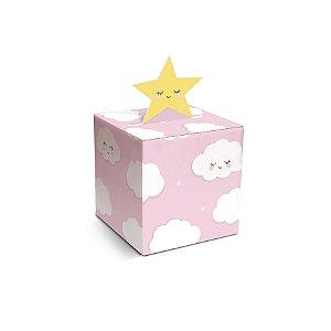 Caixa para Docinho Rosa 4,5x4,5x4