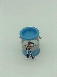Lata pequena c/ alça Toy Story c/ 06 unidades