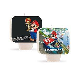 Vela plana dupla face Mario Kart