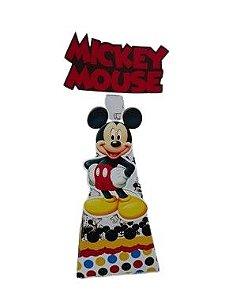 Cone personalizado Mickey com 06 unidades