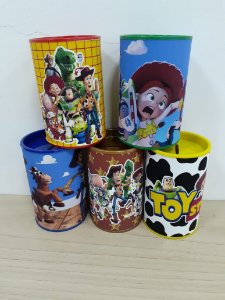 Cofre personalizado Toy Story com 05 unidades