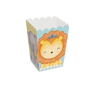 Caixa pipoca Bichinhos baby 5,5x5,5x8,5 c/ 10 unidades