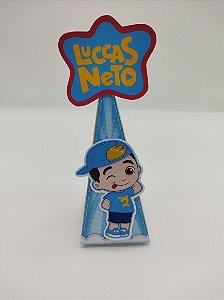Cone personalizado Luccas Neto com 06 unidades