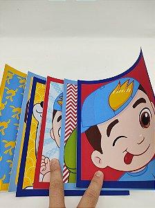 Quadrinhos personalizados Luccas Neto com 06 unidades
