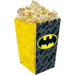 Caixa para pipoca Batman Geek com 08 unidades