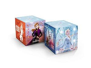 Cubo decorativo Frozen II com 03 unidades