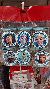 Lata pequena Frozen II com 06 unidades