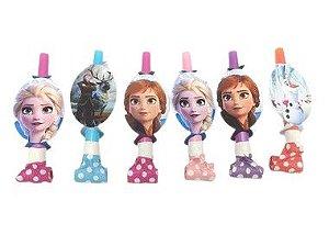 Lingua da sogra personalizada Frozen II com 06 unidades