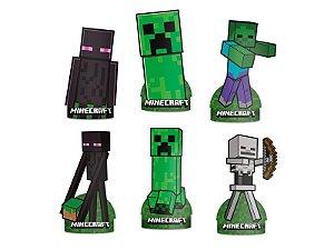 Decoração De Mesa Minecraft