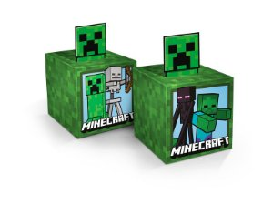 Caixa Cubo Minecraft