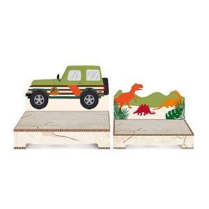 Suporte para doces Mundo dos Dinossauros