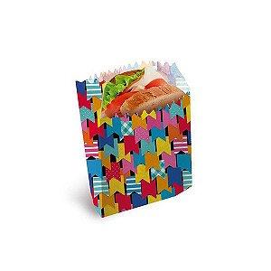 Saquinho de papel (lanche) Festa Junina