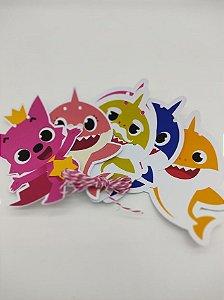 Faixa Personagens Baby Shark