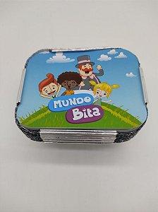 Marmita M Mundo Bita com 12 unidades