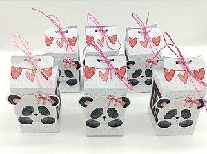 Caixa Milk Panda Rosa com 06 unidades