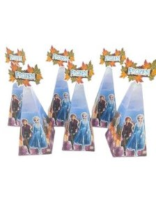 Caixa Cone Frozen II com 06 unidades