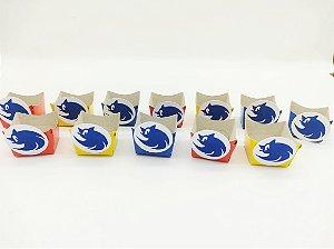 Forminha Mini Cachepot Sonic com 12 unidades