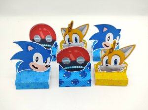 Porta Bis Triplo Sonic com 06 unidades
