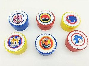 Lata redonda Sonic com 06 unidades