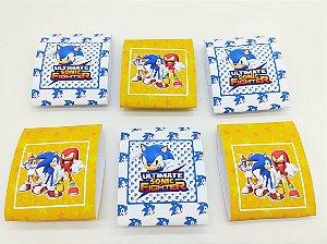 Embalagem de Brownie Sonic com 06 unidades