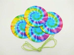 Faixa Decorativa Tie Dye