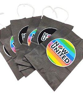 Sacola de papel Now United com 06 unidades