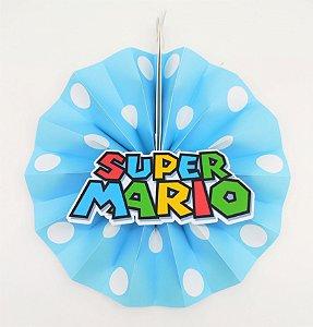 Leque Super Mario com 06 unidades