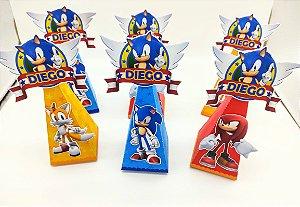 Caixa Cone Sonic com 06 unidades