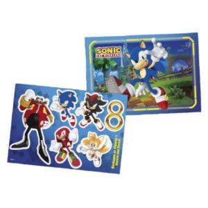 Kit Decorativo Sonic com 48 x 66 cm