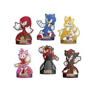 Decoração de mesa Sonic com 06 unidades