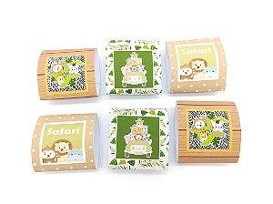 Embalagem de Brownie Safari com 06 unidades