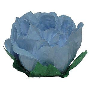 Forminha Floretta Fest Azul Hortência 30 unidades