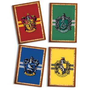 Quadro Decorativo Harry Potter com 04 unidades