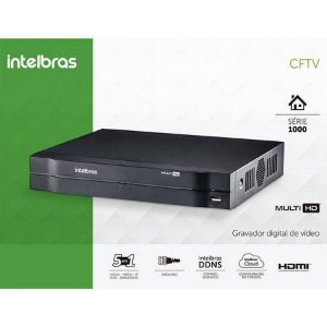 DVR INTELBRAS 08 CANAIS MULTI FULL HD 1080N ALTA RESOLUÇÃO MHDX 1208