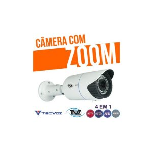 CÂMERA VARIFOCAL FULL HD 4 em 1 - TVZ TECVOZ