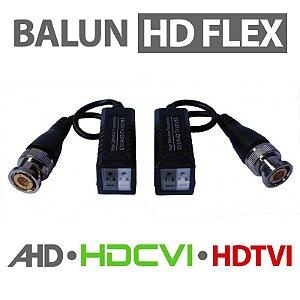 CONVERSOR VÍDEO BALUN DE ENGATE RÁPIDO HD - 300 METROS