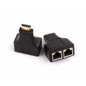 EXTENSOR HDMI CAT5e / 6 CABLE FULL HD 3D