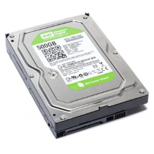 HD SATA WESTERN DIGITAL GREEN 500GB PARA DVR