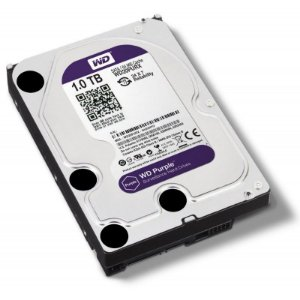 HD SATA WESTERN DIGITAL WD PURPLE 1TB - IDEAL PARA INTELBRAS
