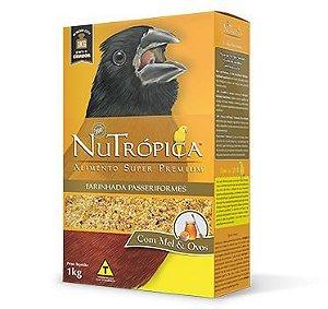 Nutrópica - Farinhada Passeriformes - Curió - 1Kg - (VALIDADE 03/09/21)