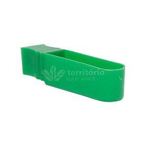 Porta Vitamina Unha - Malha Fina - Verde