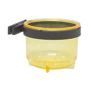 Porta Vitamina Redondo Grande - Amarelo