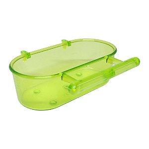 Banheira com Poleiro Pequena - Verde